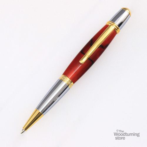 Legacy Viceroy Pen Kit - Gold / Chrome