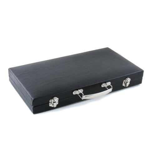Legacy Black Faux Leather Pen Case 30pcs