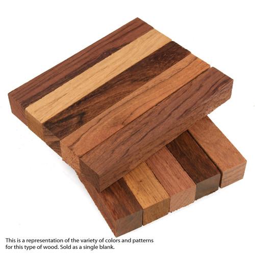 "Legacy Dalbergia Wood Pen Blank, 3/4"" x 3/4"" x 5"""