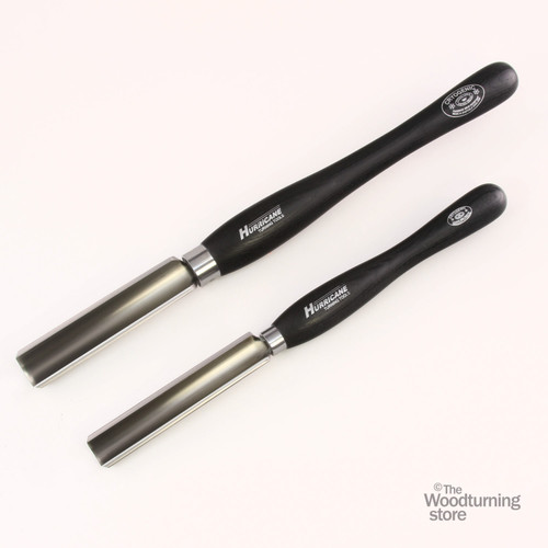 """Hurricane, M2 Cryo, 2 Piece Spindle Roughing Gouge Pro Tool Set (1 1/4"""" and 3/4"""" Flute)"""