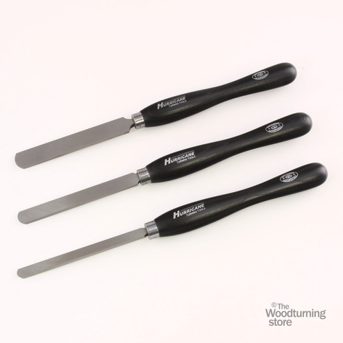 "Hurricane M2 Cryo, 3 Piece Round Scraper Pro Tool Set (1"", 3/4"" and 1/2"" Wide)"