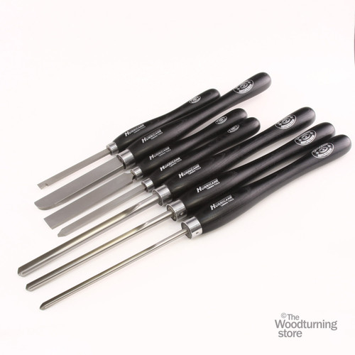 Hurricane M2 Cryo, 7 Piece Bowl Turners Set of Woodturning Tools