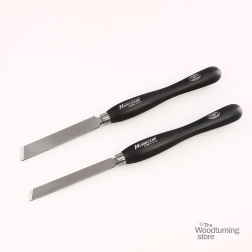 "Hurricane M2 Cryo, 2 Piece Skew Chisel Pro Tool Set (1"" and 3/4"" Wide)"