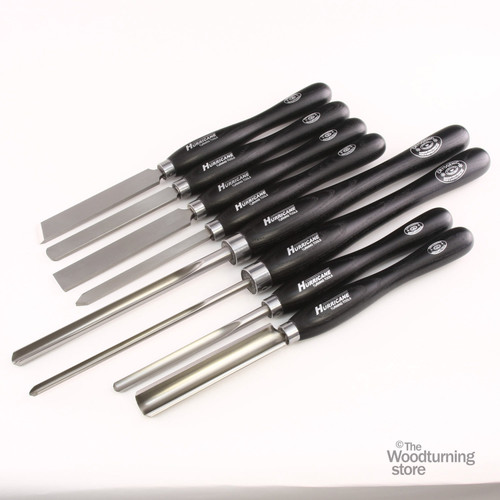 Hurricane M2 Cryo, 8 Piece Advanced Set of Pro Woodturning Tools