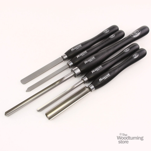 Hurricane M2 Cryo, 5 Piece Basic Set of Pro Woodturning Tools