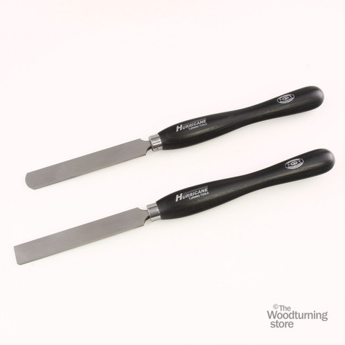 "Hurricane M2 Cryo, 2 Piece Square and Round Scraper Pro Tool Set (1"" Wide)"