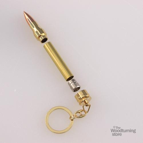 Legacy Bullet Keychain Kit - Gold