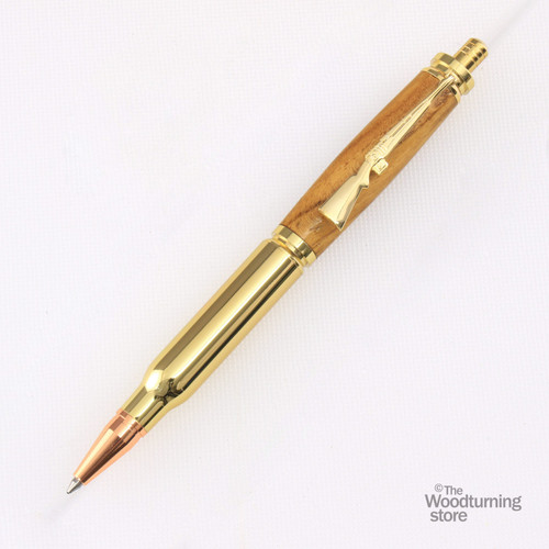 Legacy Bullet Click Pen Kit - Gold with Copper