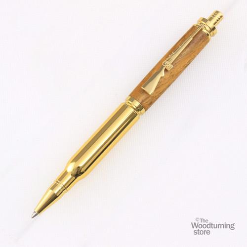 Legacy Bullet Click Pen Kit - Gold