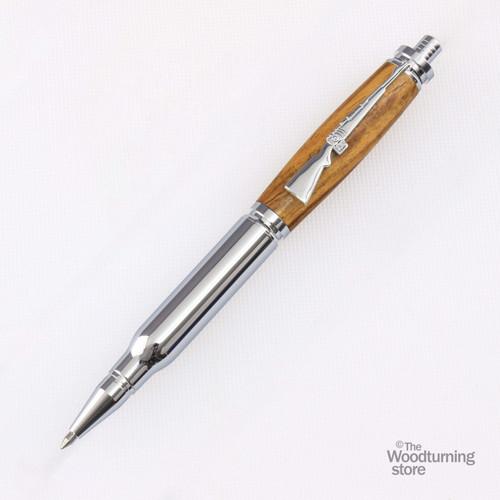 Legacy Bullet Click Pen Kit - Chrome