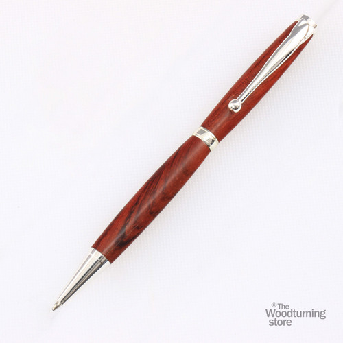 Legacy Fancy Pen Kit - Silver