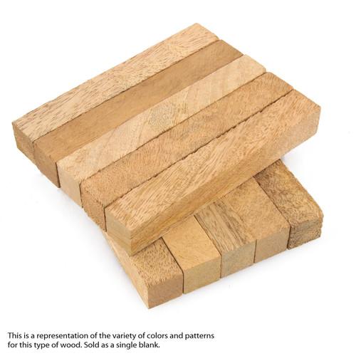"Legacy Mango Wood Pen Blank, 3/4"" x 3/4"" x 5"""