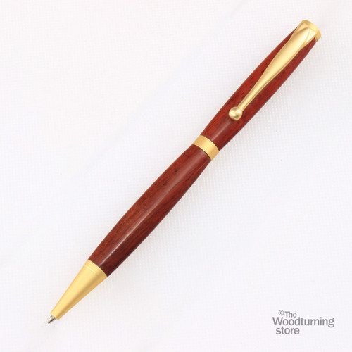 Legacy Fancy Pen Kit - Satin Gold