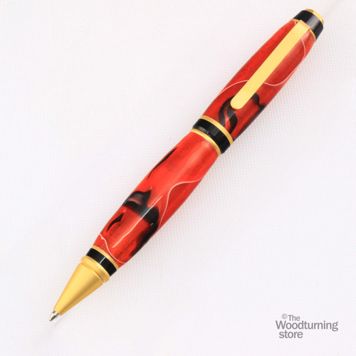 Legacy Cigar Pen Kit - Satin Gold
