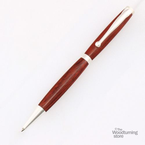 Legacy Fancy Pen Kit - Satin_Silver