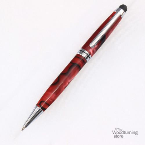 Legacy Euro Touch Stylus Pen Kit - Chrome