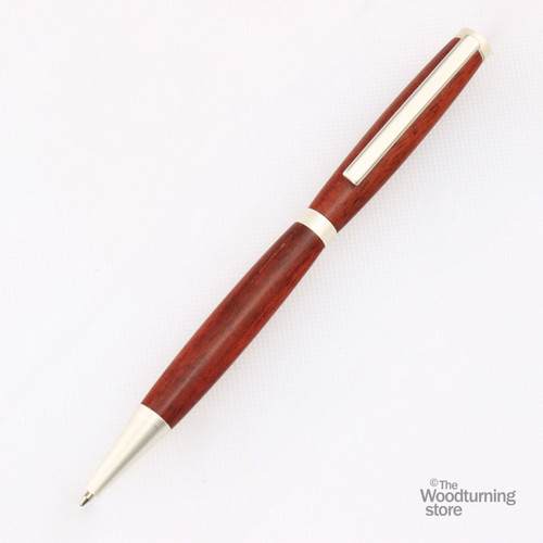 Legacy Slimline Pen Kit - Satin Silver