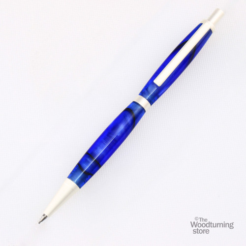 Legacy Slimline Pencil Kit - Satin Silver