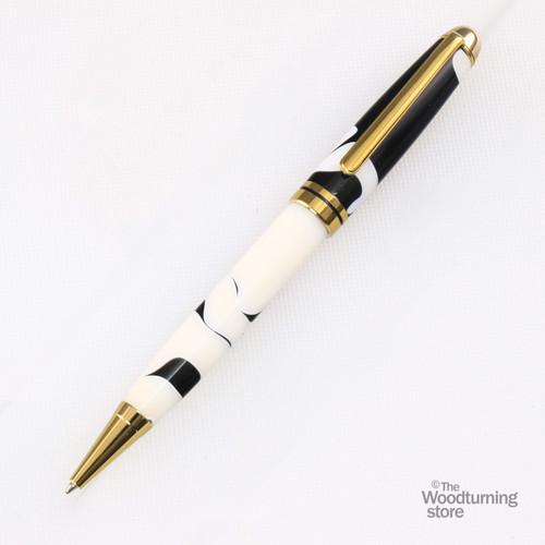 Legacy Euro Pen Kit - Titanium Gold