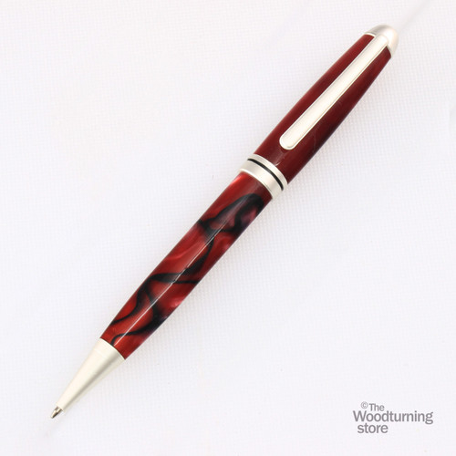 Legacy Euro Pen Kit - Satin Silver