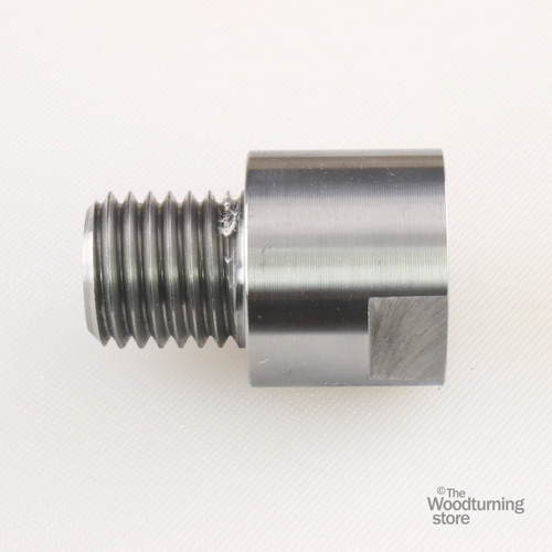"""Hurricane, Headstock Spindle Adapter, Converts 3/4"""" x 16 TPI to 1"""" x 8 TPI"""