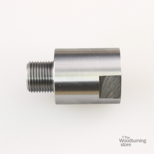 """Hurricane, Headstock Spindle Adapter, Converts 1"""" x 8 TPI  to 3/4"""" x 16 TPI"""