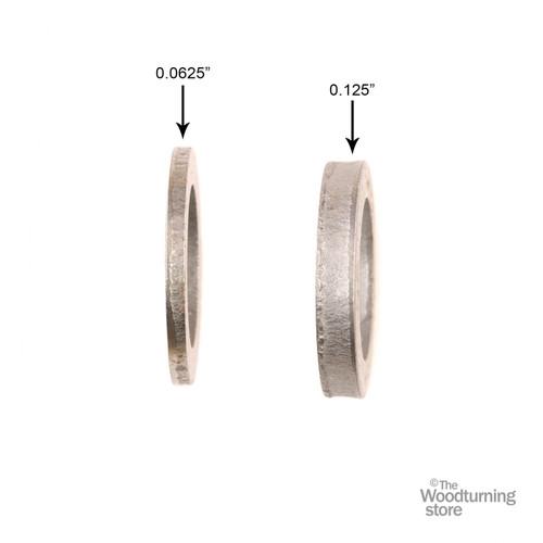 "1/16"" Thick Precision Shim for 1/2"" Diameter Grinder Motor Shafts"