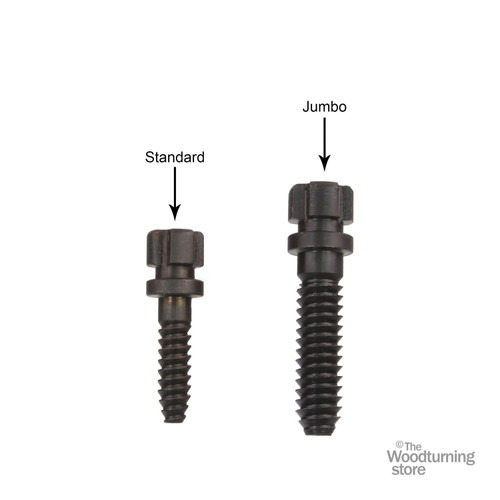 Hurricane Replacement Jumbo Wood Screw for the HTC100 and HTC125 Chucks