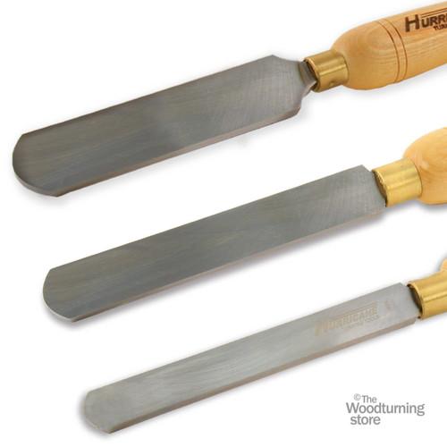 "Hurricane HSS, 3 Piece Round Scraper Tool Set (3/4"", 1"" and 1 1/2"" Wide)"