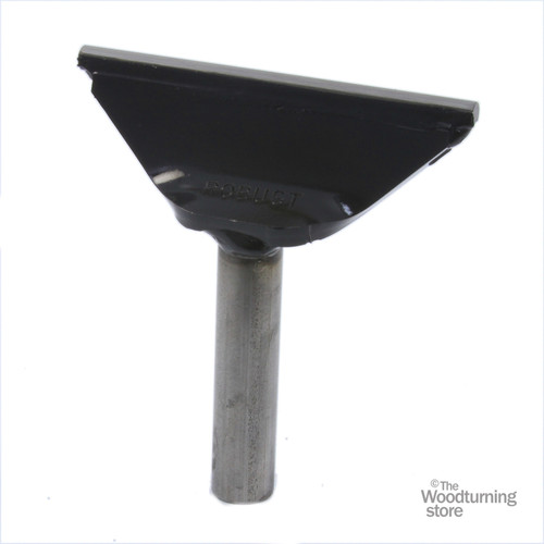 """Robust Tool Rest for Mini Lathes, 4"""" Wide, 5/8"""" Post"""