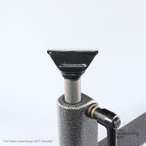 "Robust Low Profile Tool Rest, 3"" Wide, Long Post"
