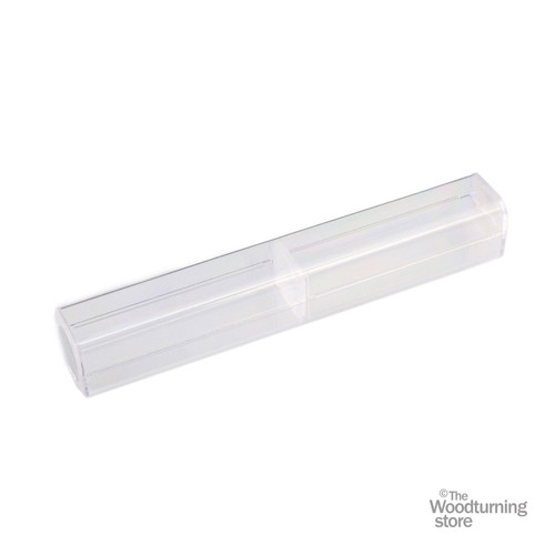 Legacy Woodturning Clear Plastic Pen Box - Pack of 15