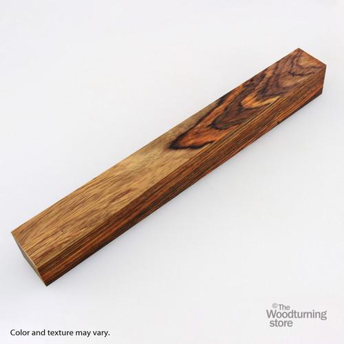 "Legacy Cocobolo Wood Turning Blank, Multi-Toned, 1 1/2"" x 1 1/2"" x 12"""