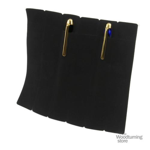 Legacy Woodturning Black Velvet Pen Sleeve - PACK OF 30