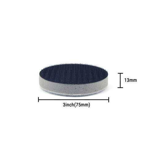 """Hurricane 3"""" Soft Interface Pad for Curved Surfaces"""