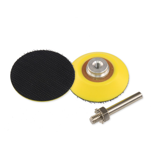 """Hurricane 2"""" Hook and Loop Backer Pad with 6mm Shaft Mount"""
