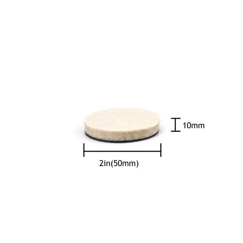 "Hurricane 2"" Felt Buffing and Polishing Pad"
