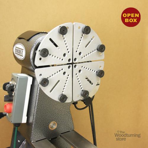 Aluminum Jumbo / Cole Jaws for Hurricane HTC125 Woodturning Lathe Chuck B Stock