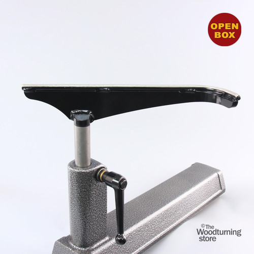 """Robust 14"""" Large """"J"""" Curved Curved Tool Rest, Standard Post, B Stock"""