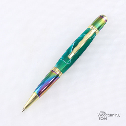 Legacy Viceroy Pen Kit - Gold and Tie Dye