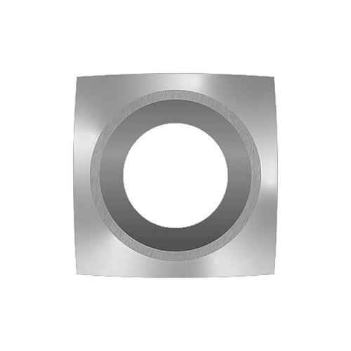 """Easy Wood Tools, Model 12411NR, Ci6-R1-NR Negative Rake Square Carbide Cutter 1"""" Radius"""