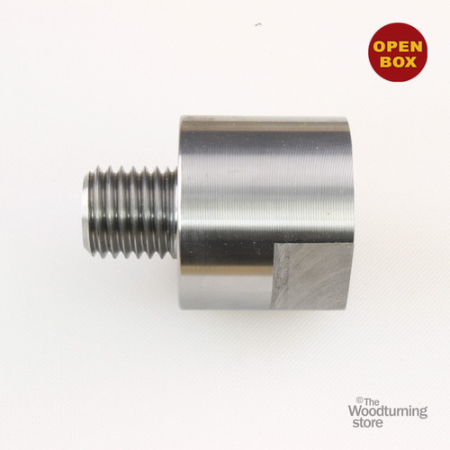 """Hurricane Tools Lathe Headstock Spindle Adapter, Converts 1-1/4"""" x 8TPI to 1"""" x 8TPI B Stock"""