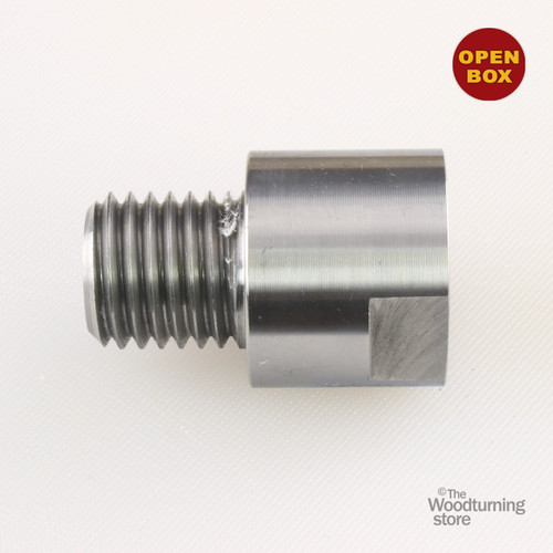 """Hurricane Headstock Spindle Adapter, Converts 3/4"""" x 16 TPI to 1"""" x 8 TPI, B Stock"""