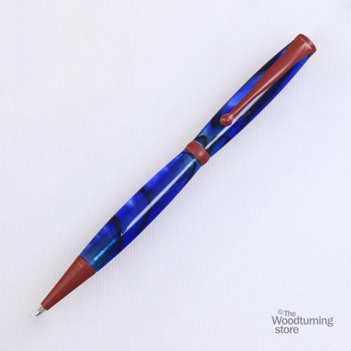 Legacy Fancy Pen Kit - Red Enamel