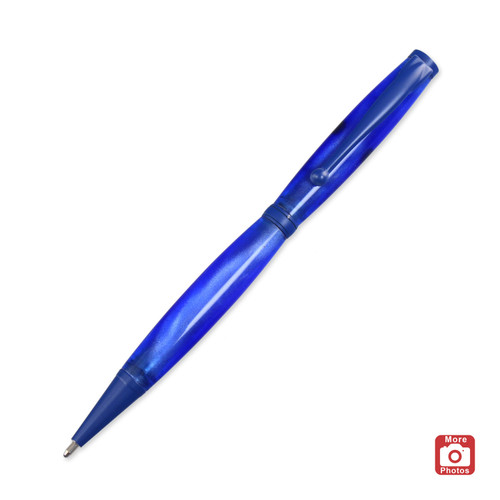 Legacy Fancy Pen Kit - Blue Enamel