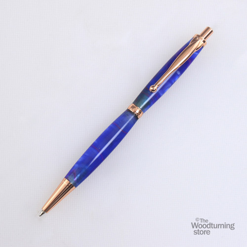 Legacy Fancy Click Pen Kit - Copper