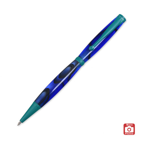 Legacy Fancy Pen Kit - Green Enamel