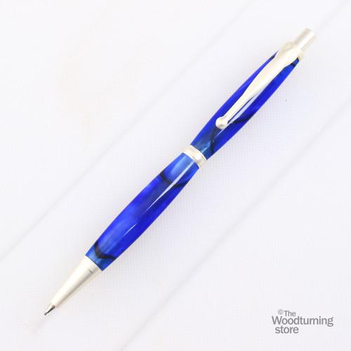 Legacy Fancy Pencil Kit - Satin Silver