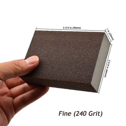Hurricane 4-Sided Sanding Sponges, 240 Grit