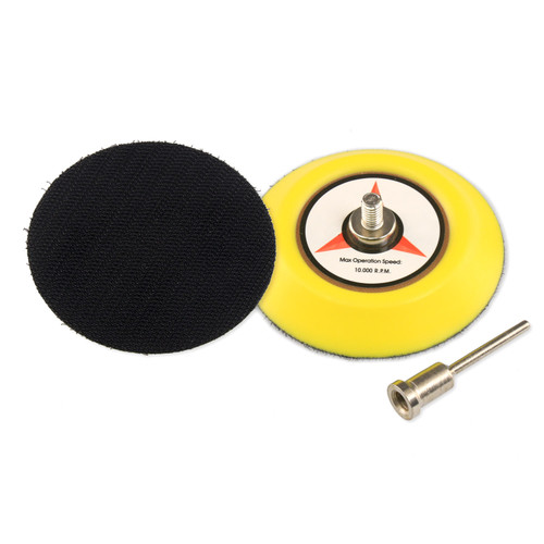 "Hurricane 3"" Backer Pad with 3mm Shank Mount"